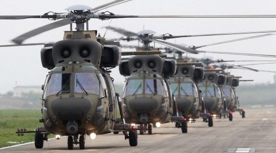Surion choppers (Yonhap)