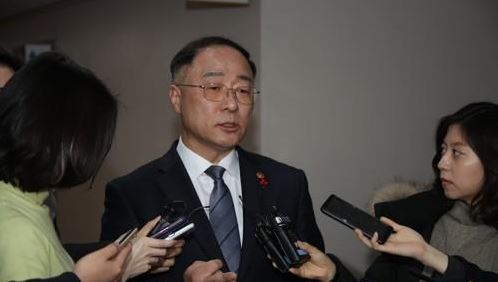 Finace Minister Hong Nam-ki (Yonhap)