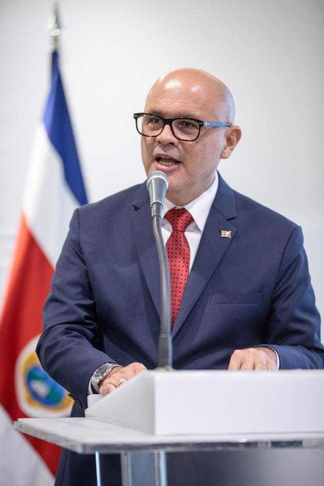 Ambassador Rodolfo Solano Quiros (Costa Rican Embassy)