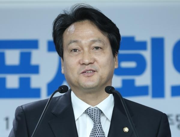 Rep. Ahn Min-seok of the ruling Democratic Party (Yonhap)