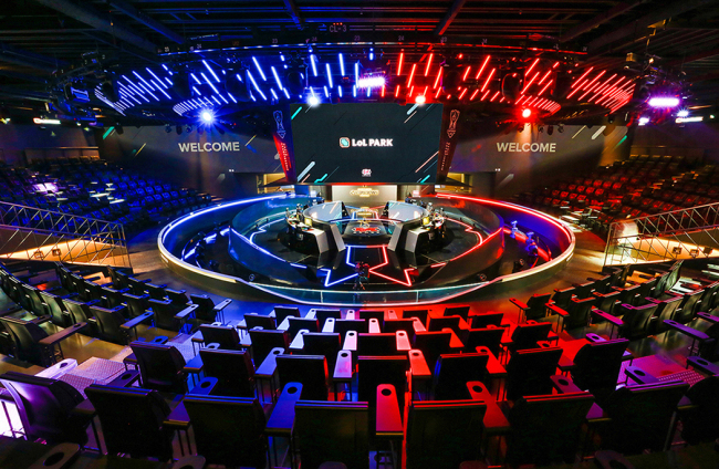 LCK Arena at LoL Park in Jongno, Seoul (Riot Games)
