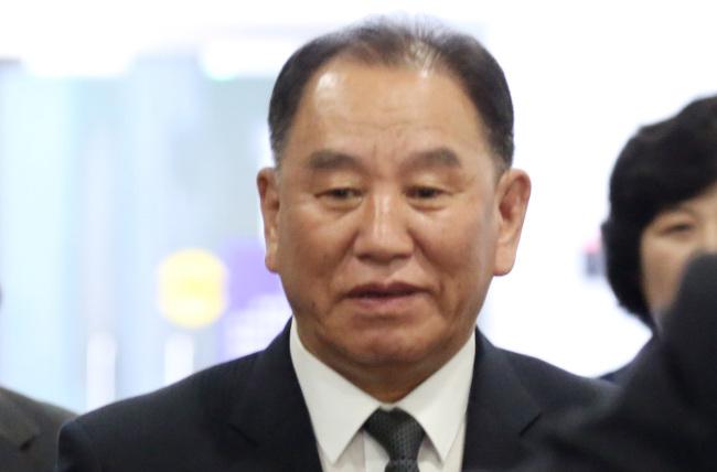 Kim Yong-chol. Yonhap
