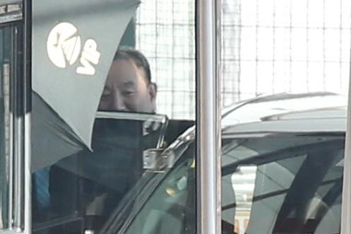North Korean senior official Kim Yong-chol (Yonhap)