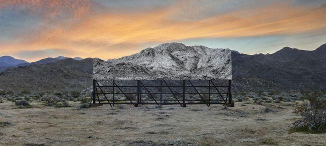 """""""Giants, Death Valley, Billboard"""" (JR-art.net)"""
