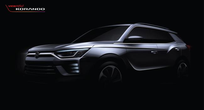 A teaser image of Korando (SsangYong Motor)