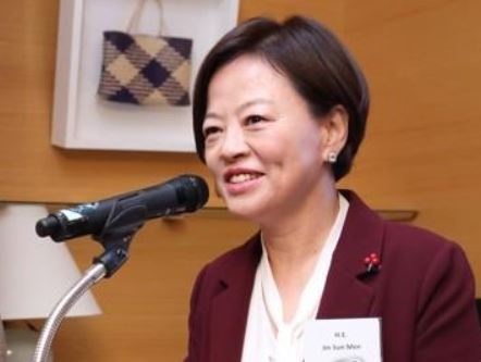 Gender Equality Minister Jin Sun-mee (Yonhap)