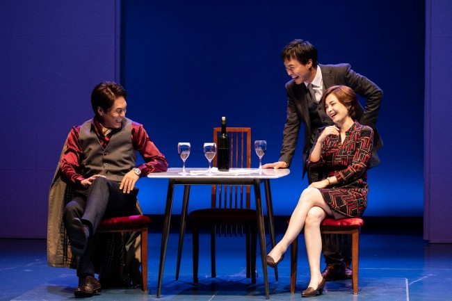 "The National Theater Company's 2018 production ""Oslo"" (National Theater Company of Korea)"