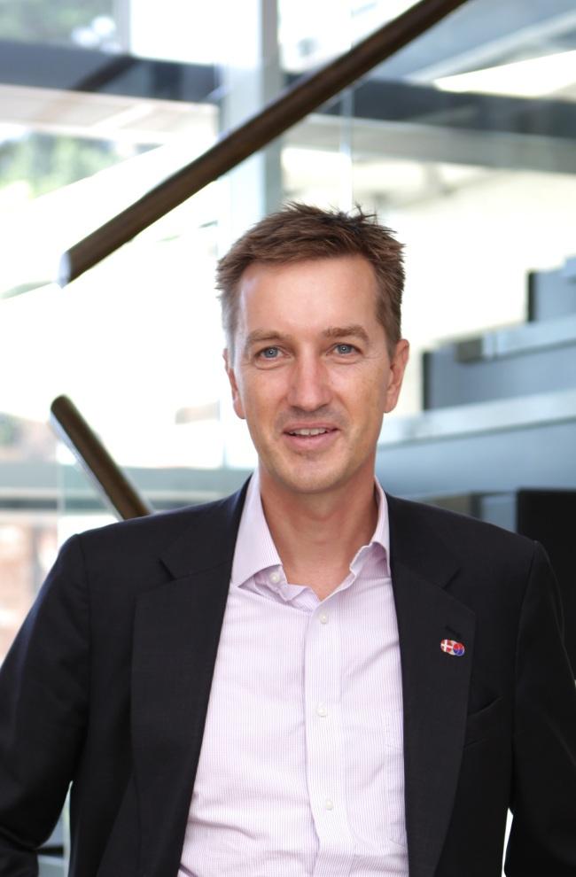 Danish ambassador Thomas Lehmann