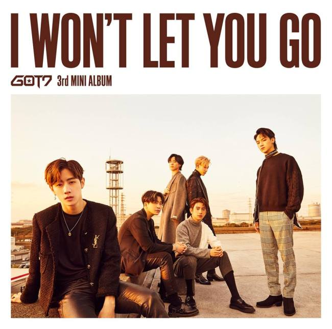 "The album cover of ""I Won't Let You Go"" (JYP Entertainment)"