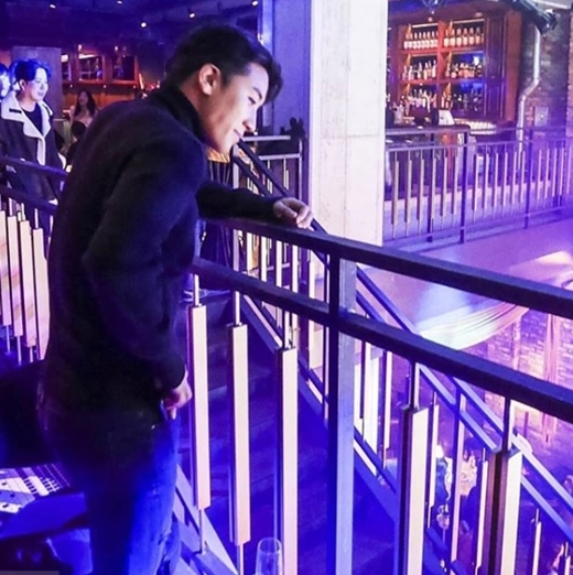 """Seungri at """"Burning Sun"""" (Seungri's official Instagram)"""