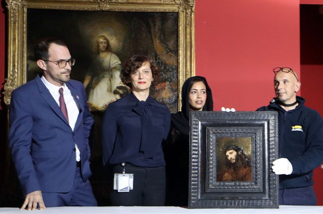 The Louvre Abu Dhabi, the first museum to carry the famed name outside of France, announced Sunday it would roll out works by Dutch masters Rembrandt and Vermeer this month. (AFP-Yonhap)