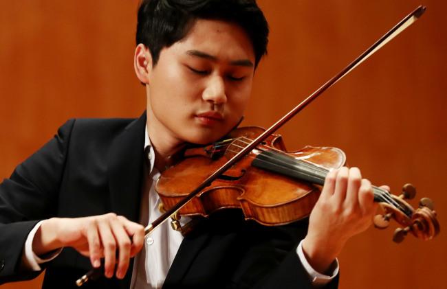 Violinist Yang In-mo (Yonhap)