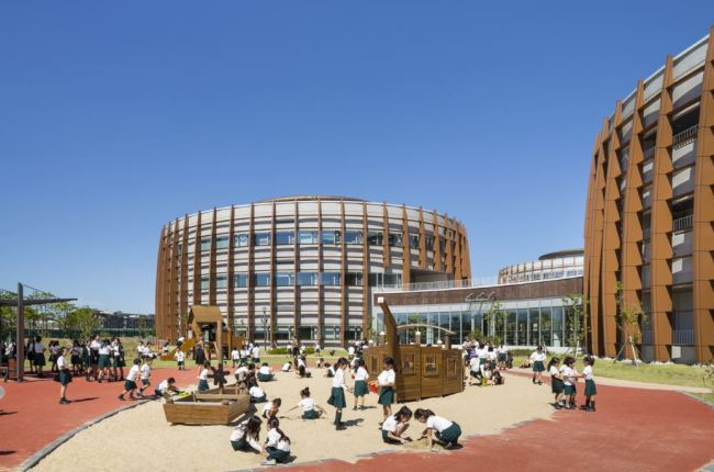 Branksome Hall Asia, one of four international schools in Jeju Global Education City in Gueok-ri, Seogwipo (Canadian Chamber of Commerce in Korea)