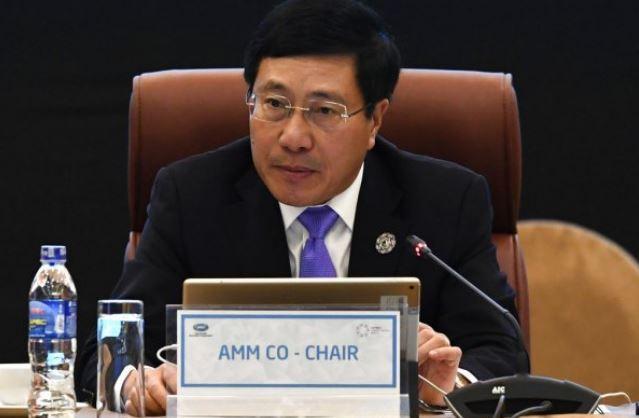 Foreign Minister Pham Binh Minh (AP)