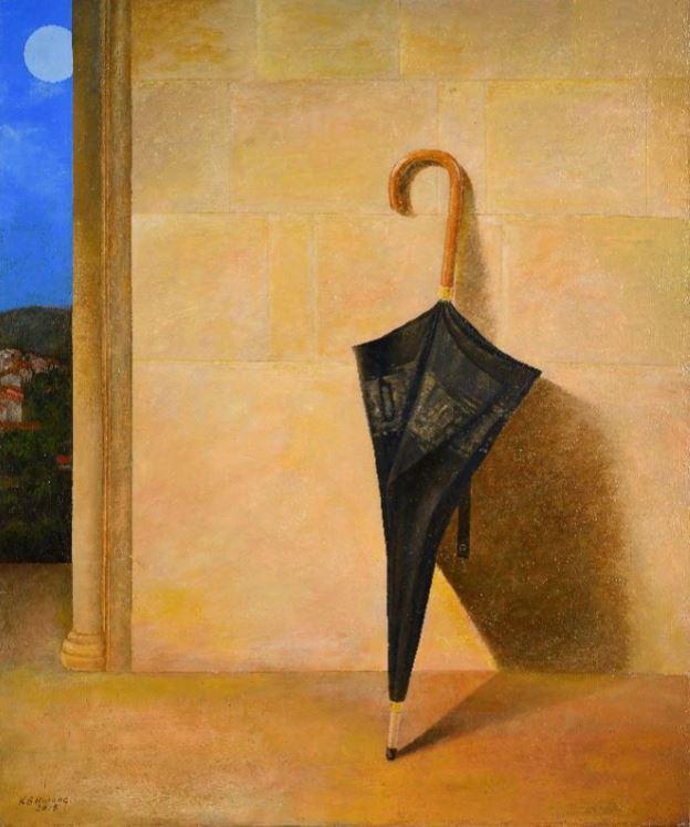"""""""An Umbrella"""" (2018) by artist Hwang Kyu-baik (Gana Art Center)"""