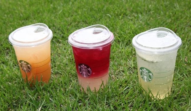 Starbucks' strawless lids (Starbucks Korea)