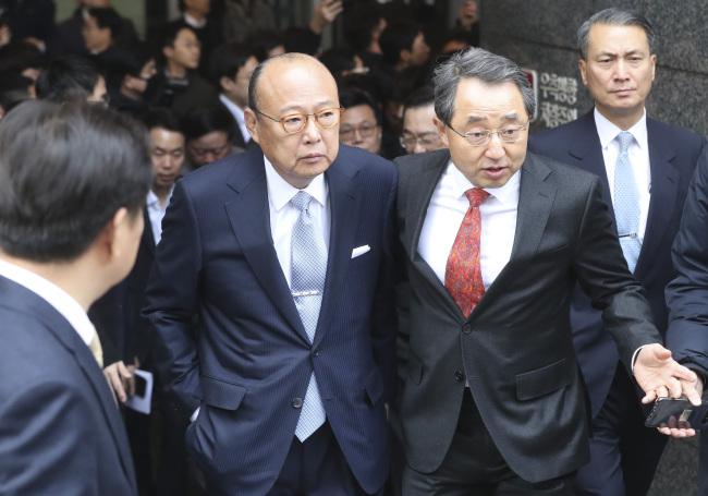 Hanwha Group Chairman Kim Seung-youn (Yonhap)