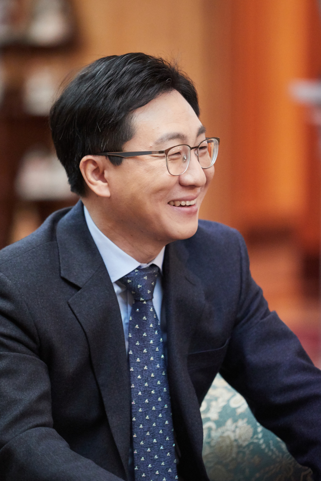 Kang Tae-il, director general of the information and international affairs bureau at the Korea Customs Service (KCS)