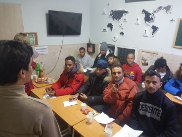 Yemeni asylum seekers learn about Korea's language and culture in Itaewon, central Seoul, at the Union of Yemen Community in Korea. (Union of Yemen Community in Korea)