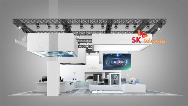 An image of SK Telecom's booth at MWC2019 (SKT)