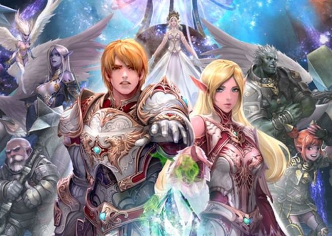 """Promotional image for """"Lineage 2M"""" (NCSoft)"""