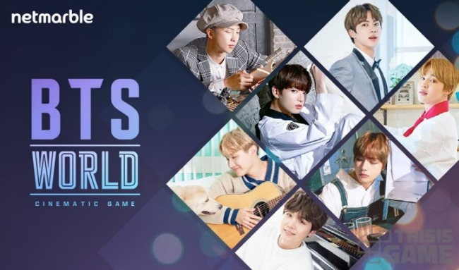 "Promotional image for ""BTS World"" (Netmarble)"