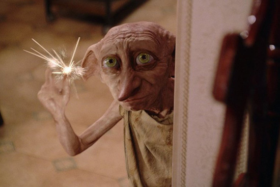 House elf Dobby (Warner Bros.)