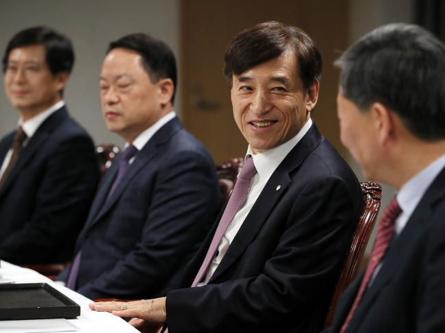 Lee Ju-yeol, governor of the Bank of Korea (Yonhap)