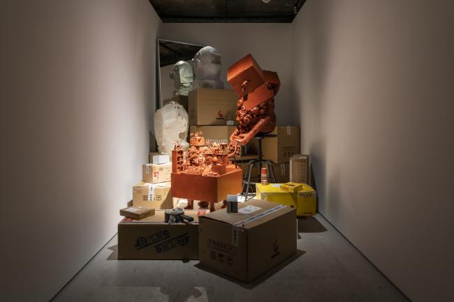 "Artist Don Sun-pil's ""Next Back Door"" (Arario Gallery)"