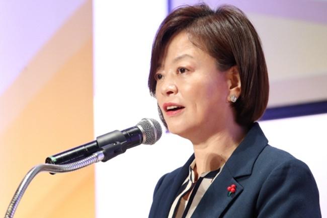 Gender Minister Jin Sun-mi. (Yonhap)