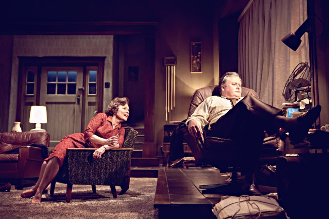 "A still from James Macdonald's reinterpretation of ""Who's Afraid of Virginia Woolf?"" by Edward Albee (Johan Persson)"