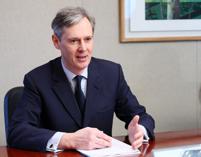 Michael Lewis, head of ESG Thematic Research at DWS, the asset management arm of Deutsche Bank. (DWS)