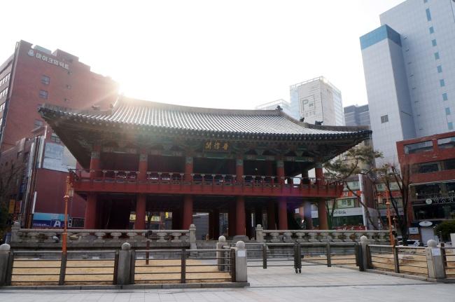 Bosingak Belfry (Im Eun-byel/The Korea Herald)