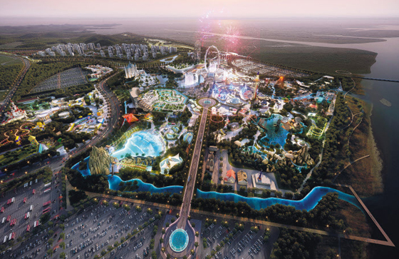 Planned construction of Hwaseong International Theme Park (K-Water)