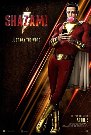 "Poster for ""Shazam!"" (Warner Bros. Korea)"
