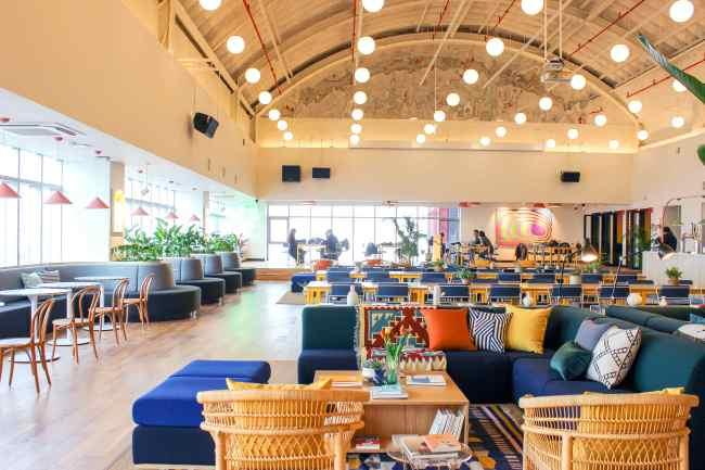 cap: Inside WeWork Designer Club