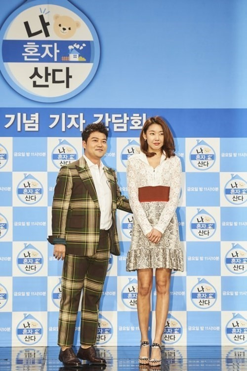 Jun Hyun-moo (left) and Han Hye-jin (MBC)