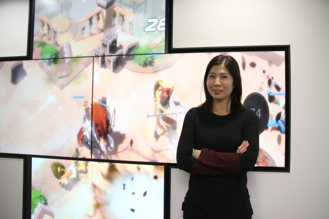 Kim In-suk, the country manager for Unity Technologies Korea (Lim Jeong-yeo/The Korea Herald)