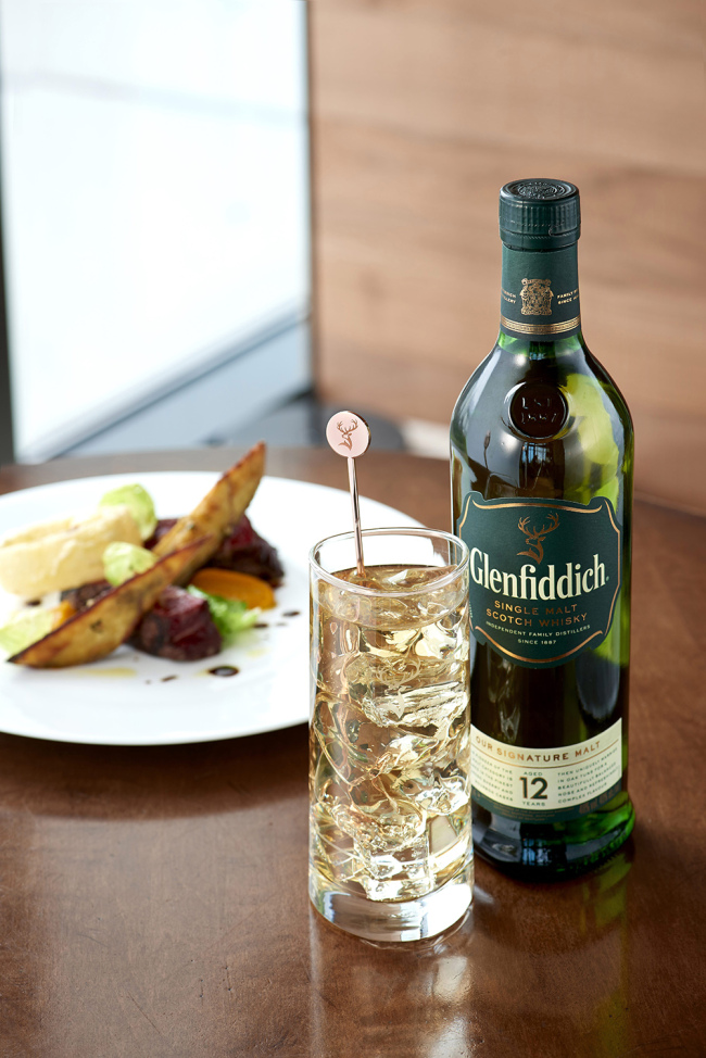 Glenfiddich highball (Glenfiddich)