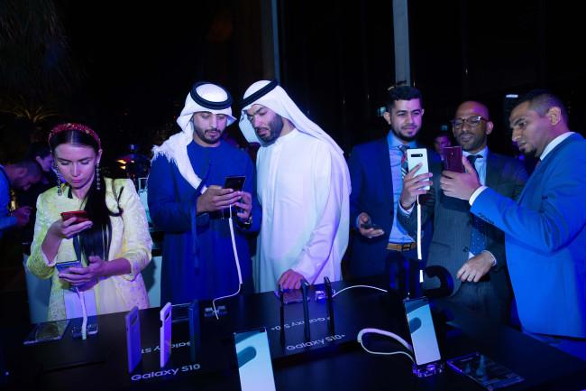 Galaxy S10 launching ceremony in Dubai (Samsung Electronics)