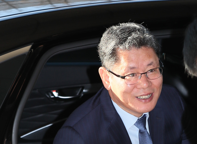 The Korea Institute for National Unification President Kim Yeon-chul (Yonhap)