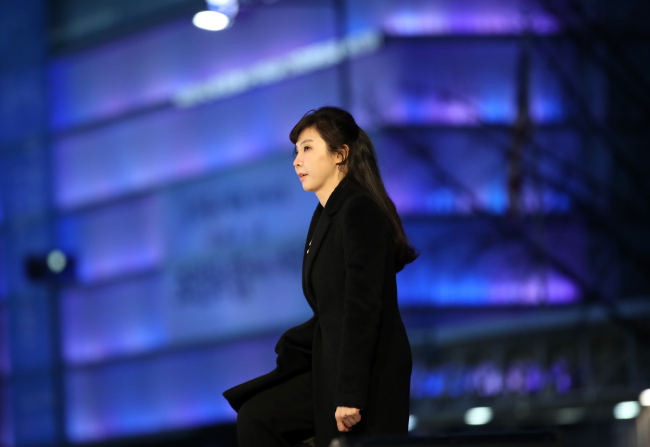 Prosecutor Seo Ji-hyun, who ignited the #MeToo movement in Korea by coming forward with sexual misconduct allegations against a senior Justice Ministry official, receives a