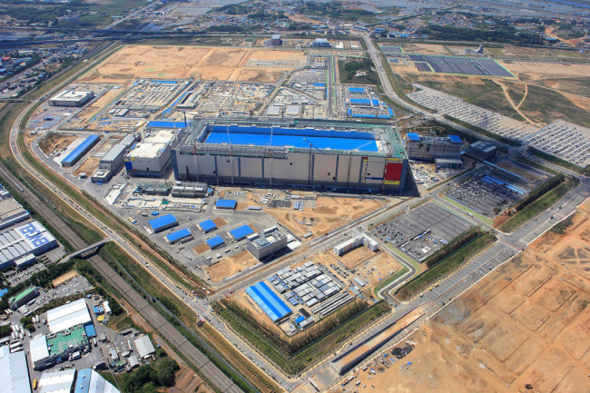 Samsung's first memory fab in Pyeongtaek (Samsung Electronics)