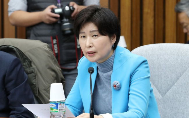 Rep. Baek Hye-ryun of the ruling Democratic Party of Korea (Yonhap)