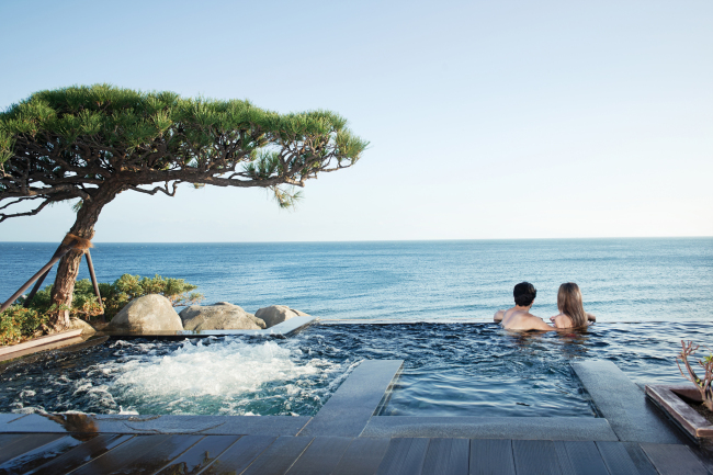 Cimer, the outdoor spa at Paradise Hotel Busan / Paradise Hotel Busan