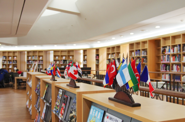 Seoul Metropolitan Library's Global Collections room (Seoul Metropolitan Library)