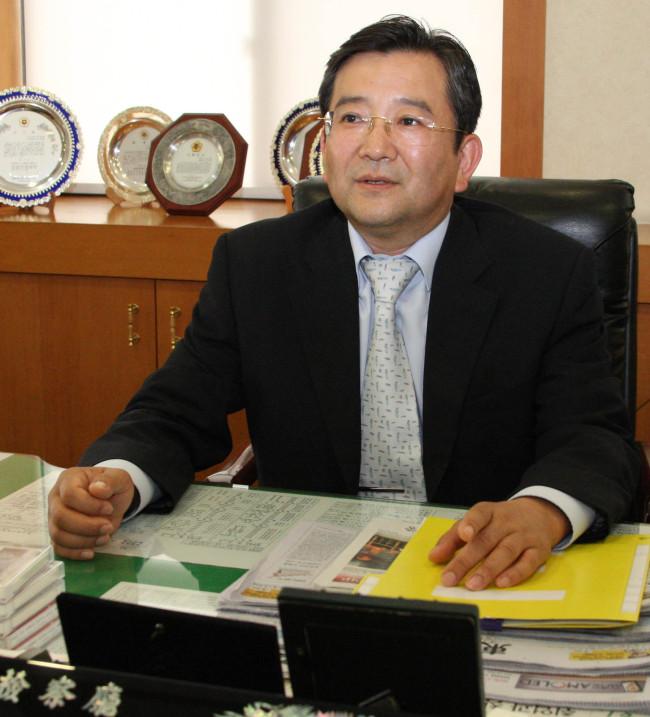 Kim Hak-eui (Yonhap)