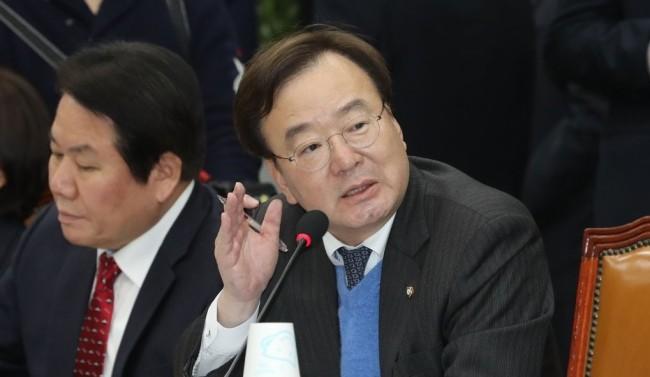 Rep. Kang Hyo-sang of the Liberty Korea Party (Yonhap)