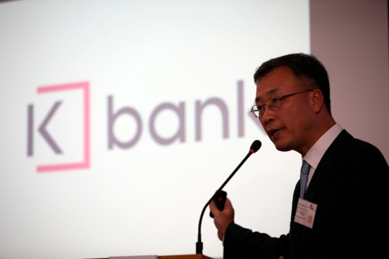 K-bank CEO Shim Sung-hoon (Yonhap)