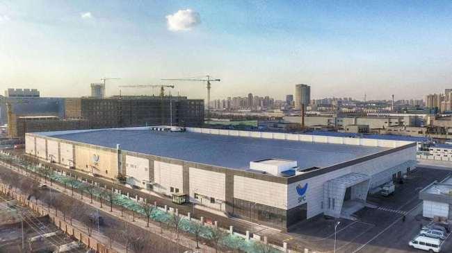 Paris Baguette factory in China (Yonhap)